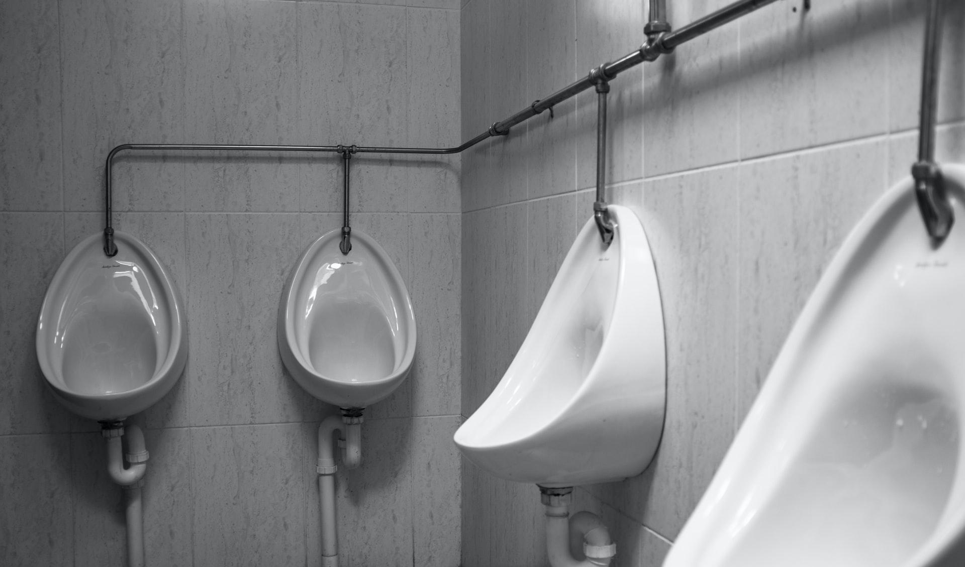 blocked urinal